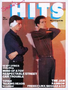 Smash Hits March 19, 1981 cover