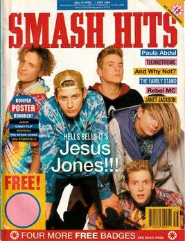 1990-04-18 Smash Hits 1 cover