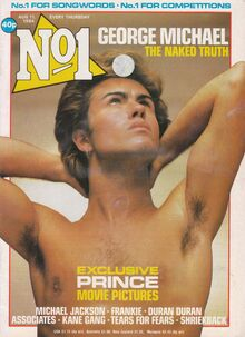 1984-08-11 No-1 George Michael cover