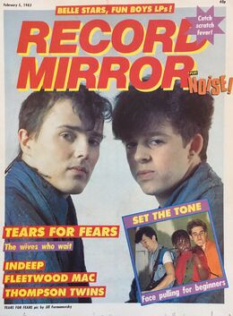 1983-02-05 RM 1 cover Tears For Fears