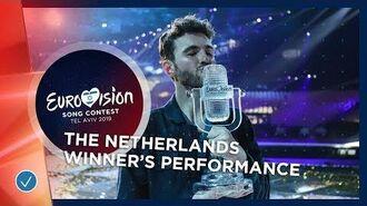 WINNER'S PERFORMANCE- Duncan Laurence - Arcade - The Netherlands - Eurovision 2019