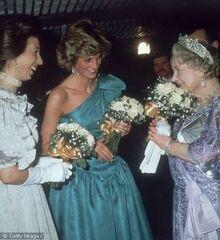 1985-03-18 Princess Di premiere