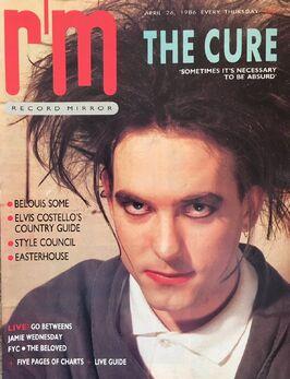 1986-04-26 RM 1 cover Robert Smith