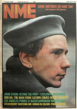 1982-08-07 NME John Lydon
