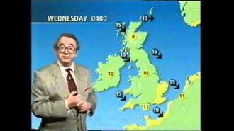 BBC Weather 20th July 1993