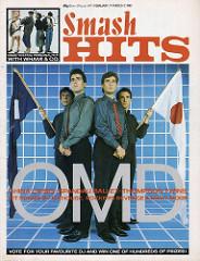 Smash Hits, February 17 1983 OMD cover