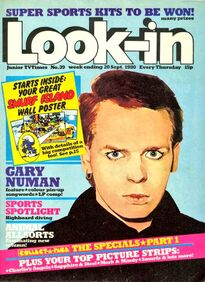 1980-09-20 Look-In 1 cover Gary Numan