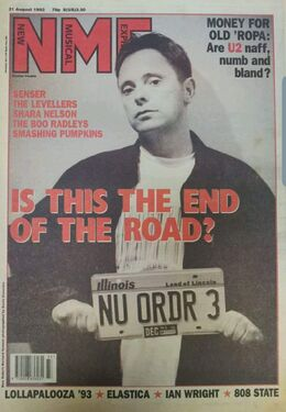 1993-08-21 NME 1 cover New Order
