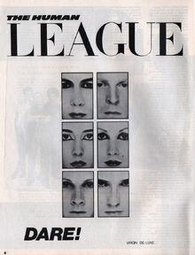 Dare album ad Smash Hits, October 15, 1981 - p.06 large