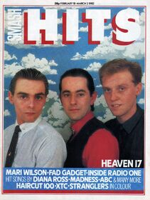 1982-02-18 Smash Hits H17 1 cover
