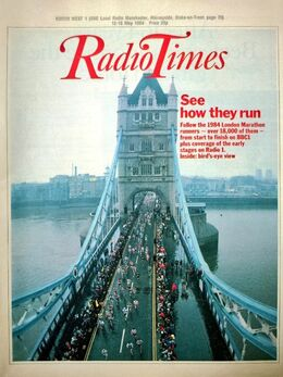 1984-05-12 RT 1 cover London Marathon