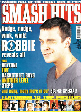 1999-02-24 Smash hits 1 cover Robbie Williams