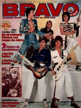 1976-04-08 BRAVO 1 cover Bay City Rollers