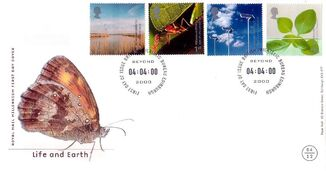 Life and Earth FDC