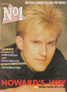 1986-01-18 No1 Howard Jones cover