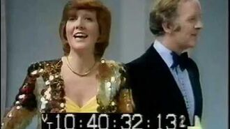 Cilla Black and Frank Bough (5th January 1974)