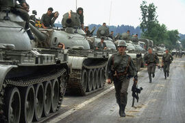 1991-06-27 10 Day War Slovenia