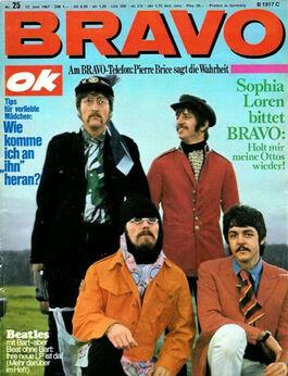 1967-06-12 BRAVO 1 cover Beatles