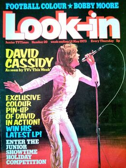1973-05-12 Look-In 1 cover David Cassidy