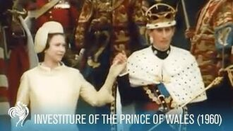 Prince Charles- Investiture of the Prince of Wales aka POW (1969) - British Pathé