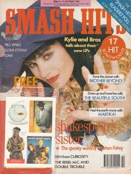 1989-10-18 Smash Hits 1 cover