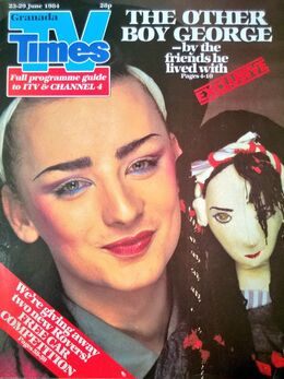 1984-06-23 TVT 1 cover Boy George