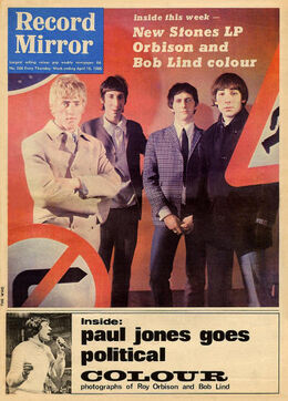 1966-04-16 RM 1 cover The Who