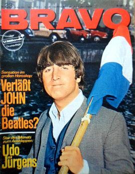 1966-05-30 BRAVO 1 cover John Lennon