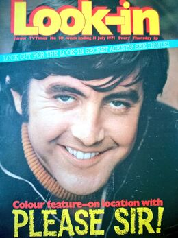 1971-07-31 Look-In 1 cover