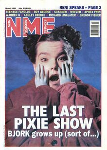 1995-04-22 NME 1 cover Bjork