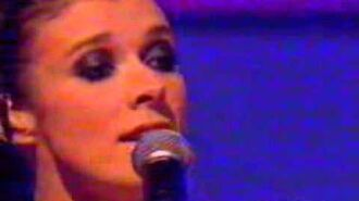 Kym Marsh performing Cry on Top Of The Pops (2003)