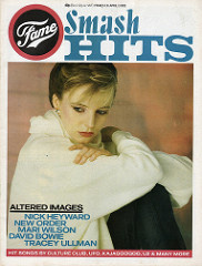 Smash Hits, March 31, 1983 - p.01 Clare Grogan cover