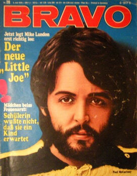 1970-10-10 Paul McCartney BRAVO cover