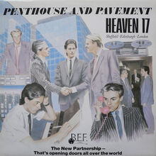Penthouse and Pavement UK LP 1981 front