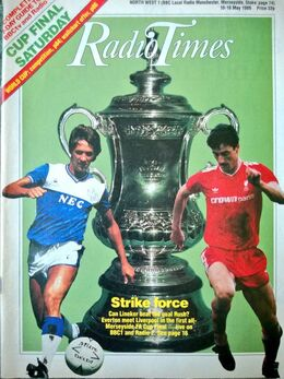 1986-05-10 RT 1 cover FA Cup