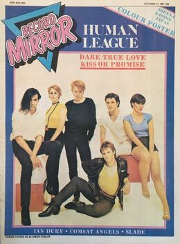 1981-07-17 RM 1 cover The Human League