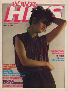 1980-05-01 Smash Hits 1 cover Siouxsie