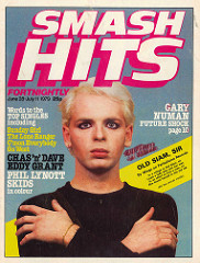 Smash Hits June 28 - July 11, 1979 - p.01 Numan cover