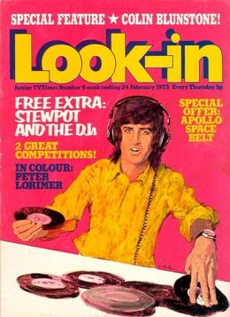 1973-02-24 Look-In 1 cover