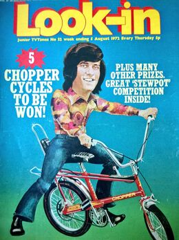 1972-08-05 Look-In 1 cover