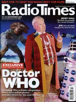 2003-11-22 RT 1 cover Doctor Who 1
