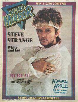 1981-04-18 RM 1 cover Steve Strange