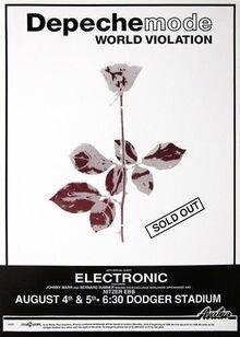 1990-08-04 05 Depeche Mode Dodger LA