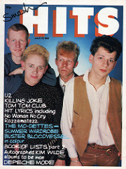 Smash Hits, July 9, 1981 - p.01 Depeche Mode cover
