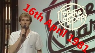 Top of the Pops Chart Rundown - 16th April 1981 (Peter Powell)