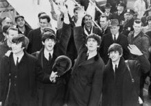 1964-02 Beatles in USA