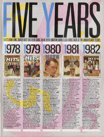 5 years anniversary Smash Hits, October 27, 1983 - p.11