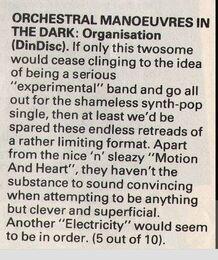Organisation review Smash Hits, October 30, 1980 - p.04