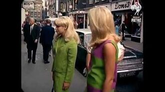 1967 - London Street Scenes (added sound w color remaster)