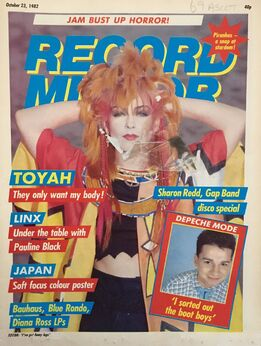 1982-10-23 RM 1 cover Toyah